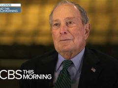 Mike Bloomberg's CBS This Morning Interview