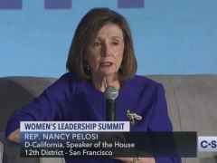 Nancy Pelosi Women's Leadership Summit Forum in Washington, D.C.